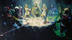 He-Man limited edition by Gerald Parel from The Art of He-Man and the Masters of the Universe