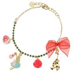 Alice in wonderland Rose Bracelet ❤ Disney Store Japan