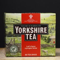Taylors of Harrogate Yorkshire Black Tea, 10 Count ** You can get more details by clicking on the image. (This is an affiliate link) Yorkshire Tea, Yorkshire Dales, The Gruffalo, Brown Sauce, Tea Quotes, Best Tea, Travel Around The World, Trees To Plant, Gourmet Recipes