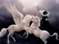 pretty pictures of peaguses   If I were given a chance, I would want to be a FLYING UNICORN .