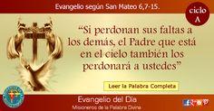 MISIONEROS DE LA PALABRA DIVINA: EVANGELIO - SAN MATEO  6,7-15