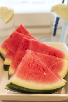 Watermelon. Children loves this!