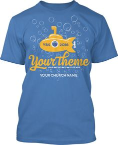 Discover Truth Submerged VBS 2016 T-Shirt Design #16220