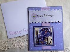 Handmade Birthday Card: complete card, handmade, balsampondsdesign, garden…
