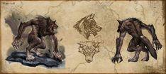 dc scratch werewolf - Google Search