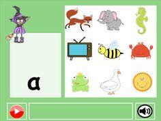 Τα παιδιά αντιστοιχίζουν το φώνημα με την κατάλληλη εικόνα. Αφού αντιστοιχίσουν… Greek Alphabet, Preschool Activities, Crafts For Kids, Language, Kids Rugs, Letters, Education, Comics, Activity Ideas