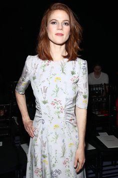 Rose Leslie February 2017 - New York Fashion Week