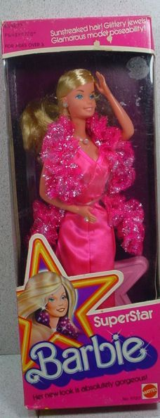 1976 Superstar #Barbie - This was one of my first Barbies.
