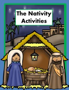 These activities are great for home school, private schools, or Sunday School to teach the Nativity story. I teach first grade and have merged classroom curriculum with the beautiful story of the birth of Jesus.