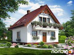 projekt Dom w rododendronach 11 lustrzaevv ne odbicie 1