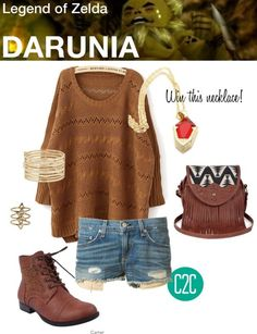 Darunia (Legend of Zelda: Ocarina of Time) Inspired Outfit I...