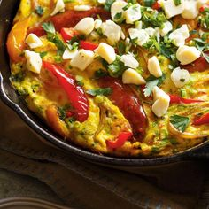 Cheese Curd and Sausage Frittata Sausage Frittata, Scones, Ricardo Recipe, Cheese Curds, Sauce, Meatloaf, Curry, Cooking Recipes, Diet