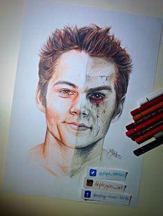 teen wolf Drawings  | Stiles/ Void Stiles Teen Wolf S3 fanart - The Collective: Teen Wolf ...