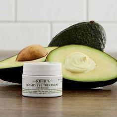 Creamy Eye Treatment with Avocado - Kiehl's Since 1851 | Sephora #AntiAgingEyeCream Eye Treatment, Skin Treatments, Dry Eyes Causes, Sensitive Skin Care, Skin Cream, Makati, Cool Eyes, Oily Skin, Natural Skin