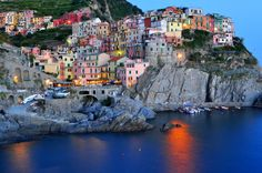 Manarola Italy by Paul Schwerdt