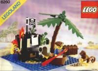 View LEGO instructions for Shipwreck Island set number 6260 to help you build these LEGO sets