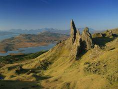 Old Man of Storr, Trotternish, Isle of Skye, Highland Region, Scotland, United Kingdom, Europe