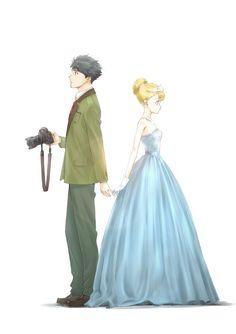 Tada-Kun wa Koi wo Shinai Announces Main Cast, Yuichi Nakamura to Play Titular Character Anime Couples, Cute Couples, Manga Anime, Anime Art, Monthly Girls' Nozaki Kun, Never Fall In Love, Love Wallpaper, Anime Shows, Shoujo