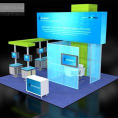 If your needs require a custom designed and built trade show booth and trade show displays, EXHIBITMAX is the best exhibit rental company! Trade Show Design, Exhibition Display, Exhibition Ideas, Exhibition Stands, Arts And Crafts For Teens, Bone Crafts, Trade Show Giveaways, Plastic Bottle Crafts, Show Booth