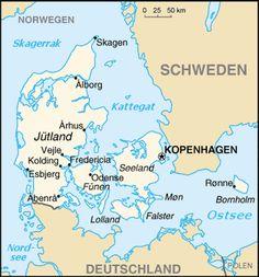 Denmark map World UK England Denmark Pinterest Denmark