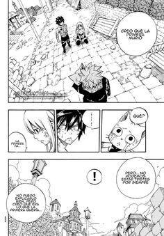Natsu informa que Mavis ha muerto - Fairy Tail Manga 538