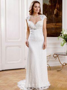 Trouwjurk uit de nieuwe bruidsmode collectie van Modeca 2015.