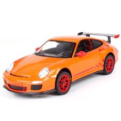 Officially Licensed Brand New Radio Remote Control Car 114 Scale Porsche 911 GT3 RS RC RTR Orange -- Read more reviews of the product by visiting the link on the image.