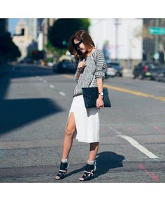 Sloth style: 5 slouchy sweater and skirt combos for Spring