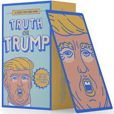 Trump or Truth and Other 2020 Election Card Game Patriotic Room, Patriotic Party, Election Card, Election Night Party, Large American Flag, Fun Card Games, Vote Sticker, Coloring Books
