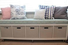 Conceal Canned Food In A Bench Seat | Creative Canned Food Storage Ideas