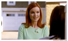 Bree Van De Kamp in mint green Bree Van De Kamp, Role Models, Mint Green, Sweaters, Fashion, Templates, Moda, Fashion Styles, Pullover