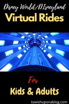 Check out how to bring the magic of Disney World/Disneyland into your home with virtual rides for kids and adults during this serious time. Virtual Travel, Virtual Tour, Virtual World, Home Learning, Learning Resources, Disneyland, Parks, Virtual Field Trips, Activities For Kids
