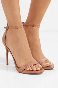 3679aead7 Glittered vinyl sandals by Sam Edelman  samedelman  nudeshoes  sandals Shoe  Basket
