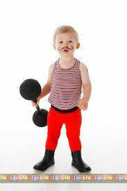 Bilderesultat for adult strongman costume pattern  sc 1 st  Pinterest & Circus Strong Man Toddler Costume u0026 MORE | Scary stuff Scary and ...