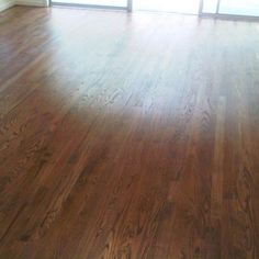 red oak floors stained with provincial - Google Search Oak Floor Stains, Wood Floor Stain Colors, Red Oak Floors, Oak Hardwood Flooring, Home Remodeling, New Homes, House Design, Google Search, Lighthouse