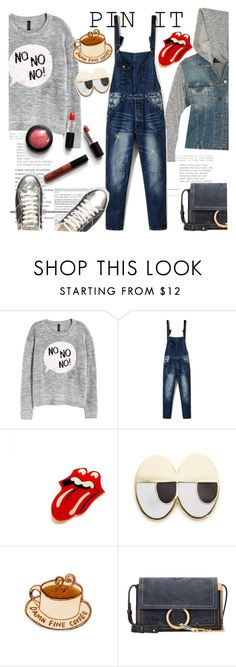 """""""Pins With Personality"""" by clotheshawg ❤ liked on Polyvore featuring H&M, Georgia Perry, Chloé and Dorothy Perkins"""