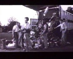 "Read more: https://www.luerzersarchive.com/en/magazine/commercial-detail/22928.html [00:45]# A stylishly ""grungy"" commercial for Crocker jeans, filmed in black and white and set at a garage. An oil spill on a pair of jeans sets off a chain of events that ends with a garbage truck dumping its entire load onto the pavement. Tags: Olavi Haekkinen,Olaus, Boros,Goeran Olausson,Crocker Jeans,Oh la la, Helsinki"