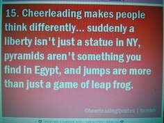 Cheer Quote...Seeing things differently