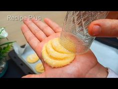 Kokosové a citronové sušenky za 10 minut‼ ️😋😋😋 ASMR RECEPT - YouTube Pastry Recipes, Cake Recipes, Dessert Recipes, Cooking Recipes, Biscuit Cake, Biscuit Recipe, Lemon Biscuits, Coconut Cookies, Small Cake