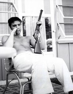 Elvis, only one man has ever been that cool.