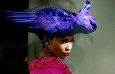 blue bird  Christian Dior Haute Couture Autumn/Winter 2009/2010