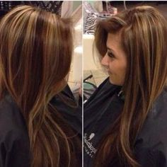 Chocolate brown with gold highlights ❤️❤️❤️ by flossie