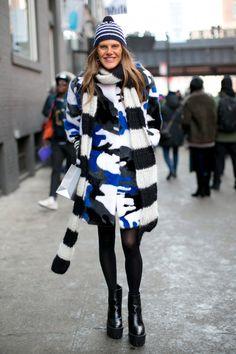 Army fur coat