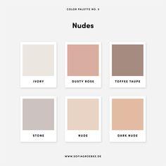 Colors Nude Color Palette My House is Clean, Why do I Need an Air Purif Colour Pallette, Colour Schemes, Color Trends, Colour Combinations Interior, Earthy Color Palette, Interior Color Schemes, Pastel Palette, Neutral Palette, Pantone Colour Palettes