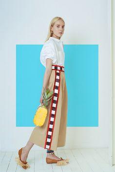 Stella Jean Resort 2019 Fashion Show Collection - Cool Chic Style Fashion Fashion Line, 50 Fashion, African Fashion, Fashion News, Fashion Outfits, Womens Fashion, Fashion Trends, Style Fashion, Daily Fashion