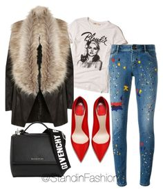 """""""Untitled #114"""" by standinfashion on Polyvore featuring Hollister Co., River Island, Alice + Olivia and Givenchy"""
