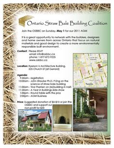 13 straw bale building and the foundation by andrew for Slab on grade ontario