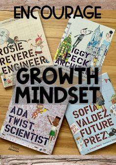 Are you looking for growth mindset activities for kids? The Questioneers books by Andrea Beatty feature characters that kids can relate to. Your elementary students will learn about perseverance and be inspired by Rosie Revere, Iggy Peck, Ada Twist, and Sofia Valdez. Read all about these books and start brainstorming your growth mindset activities today! #thetrappedlibrarian #growthmindsetforkids Growth Mindset Classroom, Growth Mindset Activities, Elementary School Library, Elementary Schools, Upper Elementary, Library Skills, Library Lessons, Reading Motivation, Brain Based Learning