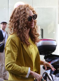 Beyonce went to lunch at Coste Hotel in Paris, France on June 8, 2012.  Sip With Socialites  http://sipwithsocialites.com/