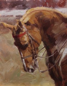 Saddlebred Spirit. 11 x 14 in., oil. Lindsey Bittner Graham